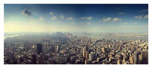 Downtown by FullRedAtom