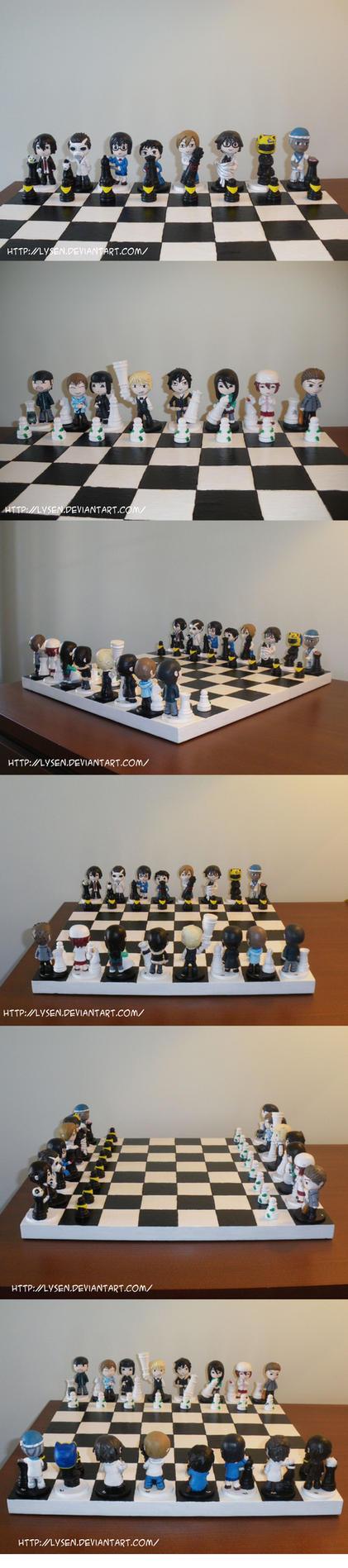 Durarara chess board by lysen