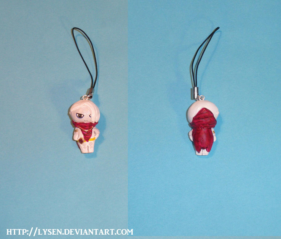 Ghirahim cell phone charm by lysen