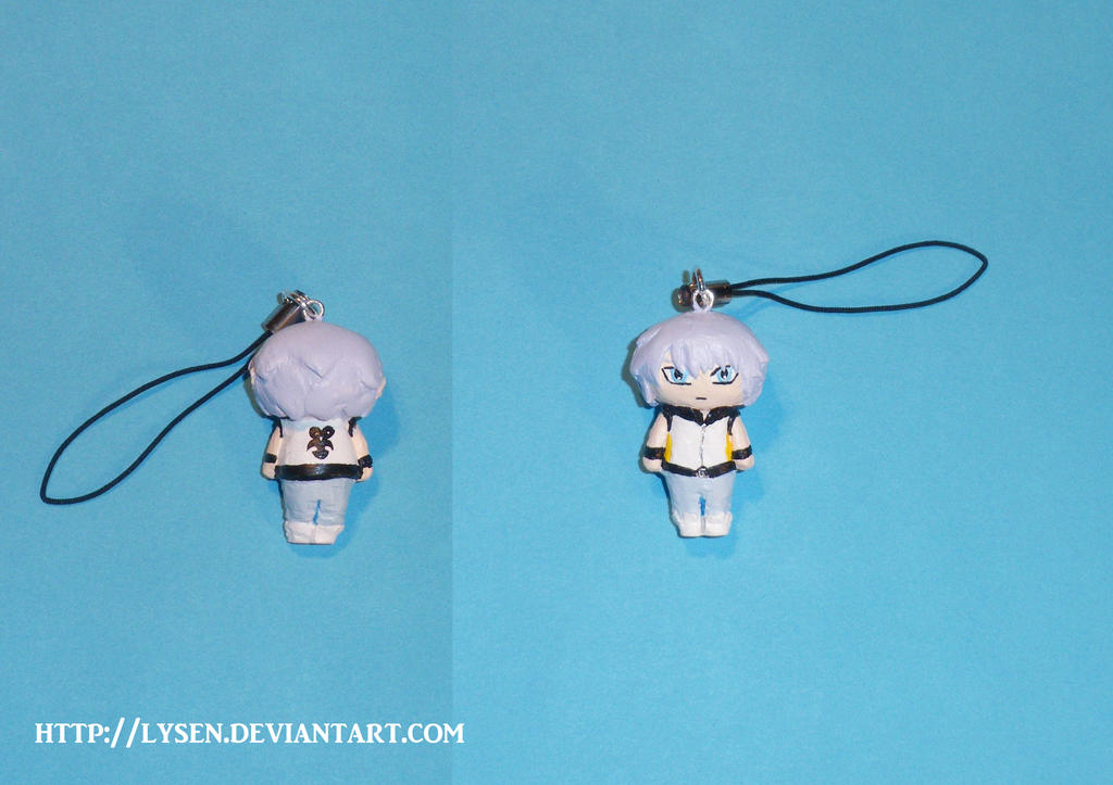 Riku cell phone charm by lysen