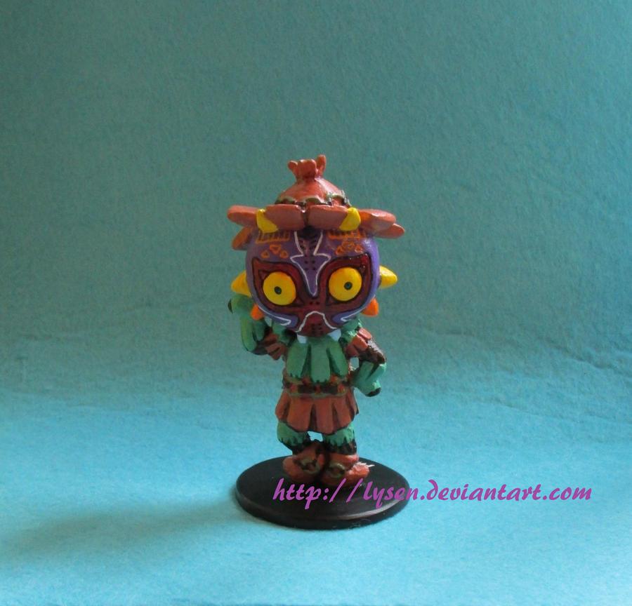 Majora's mask - Skull kid 2.0 by lysen