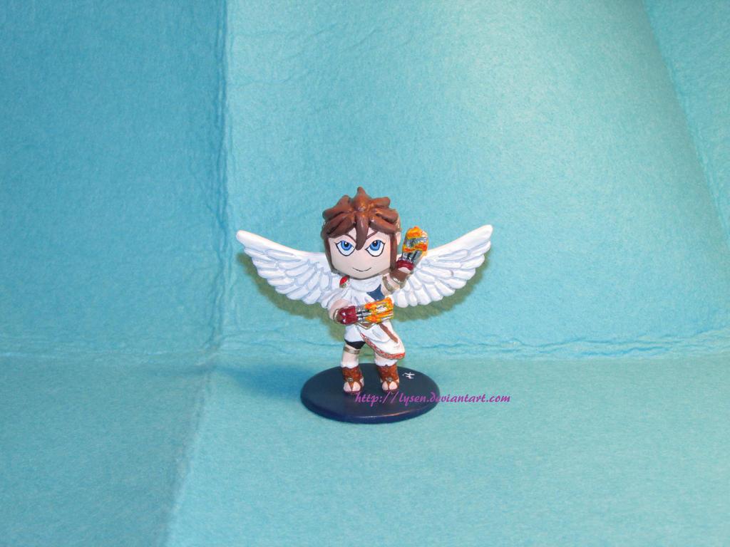 Kid Icarus chibi by lysen