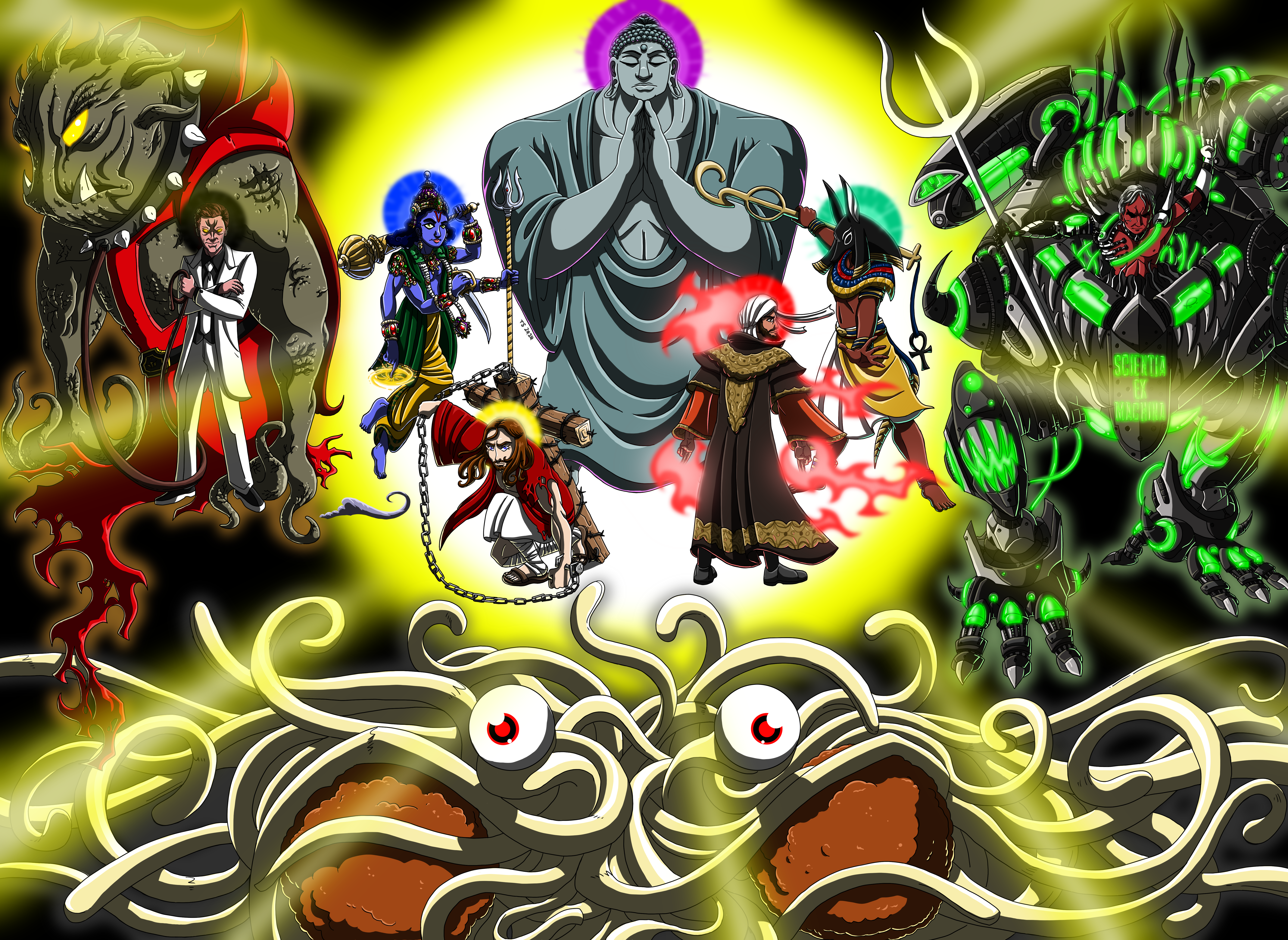 The Legion of Deities by TSoutherland