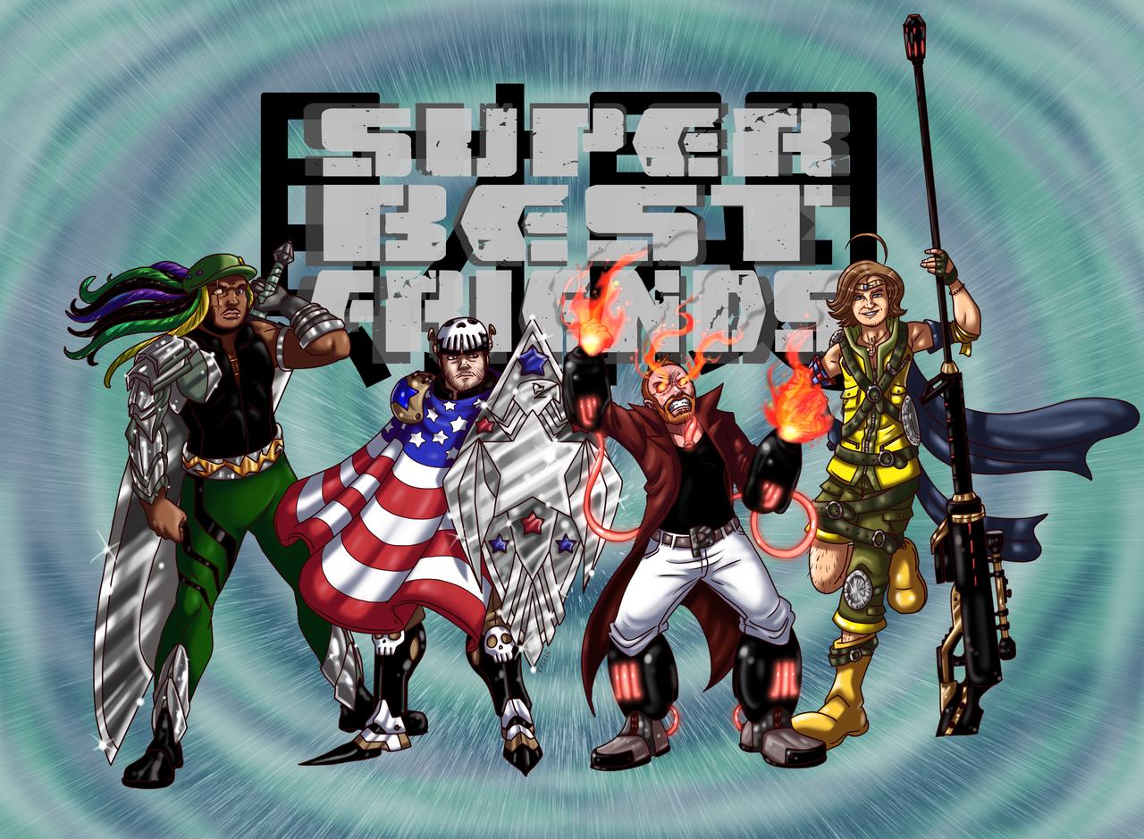 Super Best Friends Zaibatsu By TSoutherland On DeviantArt