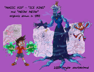 Magic Kid 1995-2019 by TSoutherland