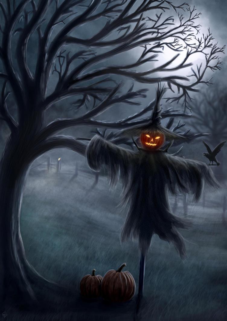 Scarecrow by unikatdesign on DeviantArt
