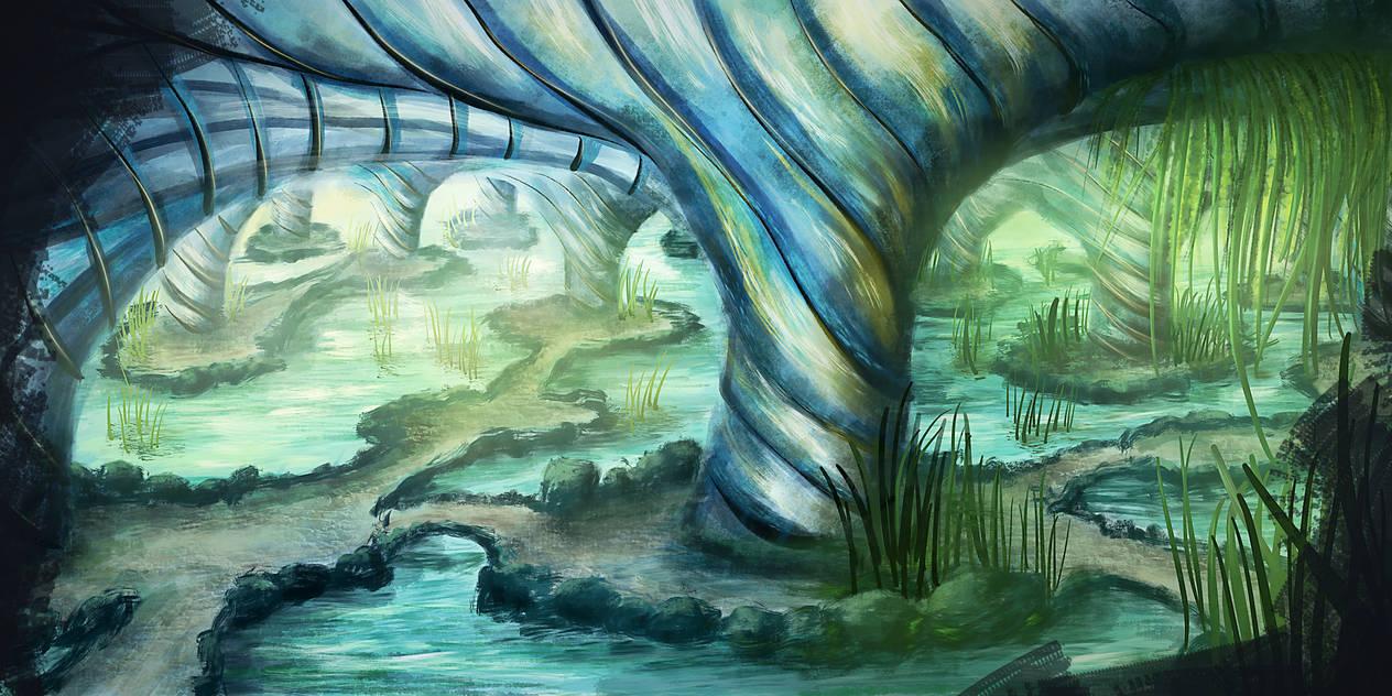 Die Grotte by unikatdesign