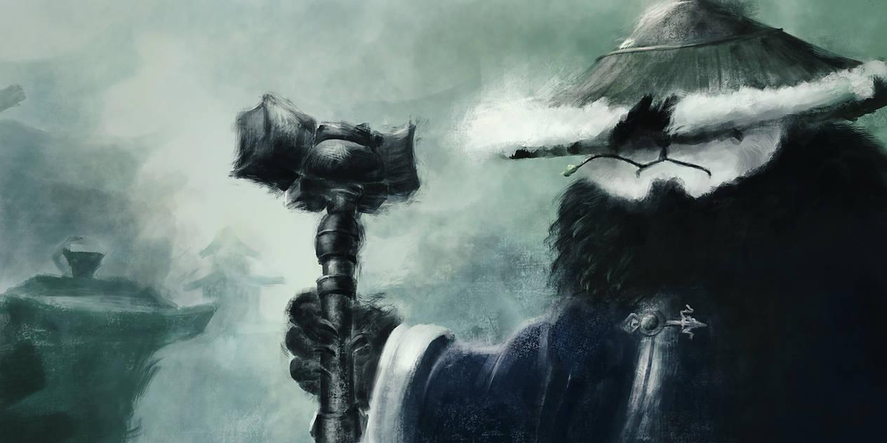 Fan Art Mists of Pandaria - World of Warcraft by unikatdesign