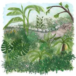 Dschungelgarten