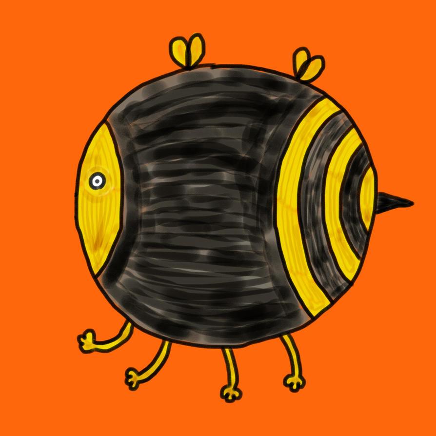 Round bee by kodama-alternative