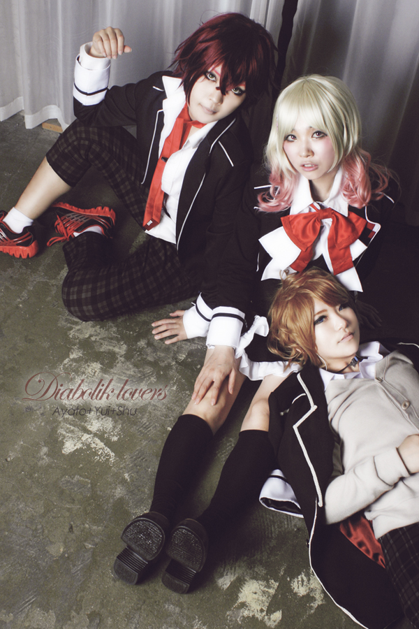 Diabolik Lovers Ayato Yui Shu By Rizel0824 On Deviantart