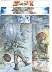 TLoZ - 1 - Silent Comic by AdamBryceThomas