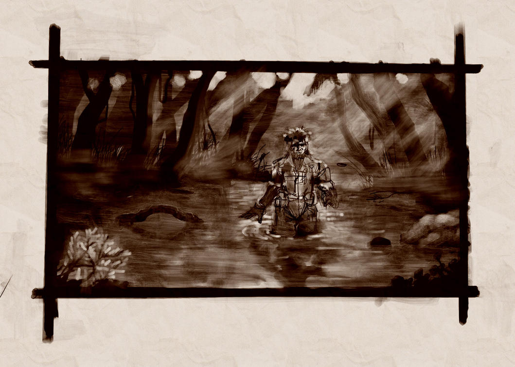 Metal Gear Artwork 38954 by MrEgaku
