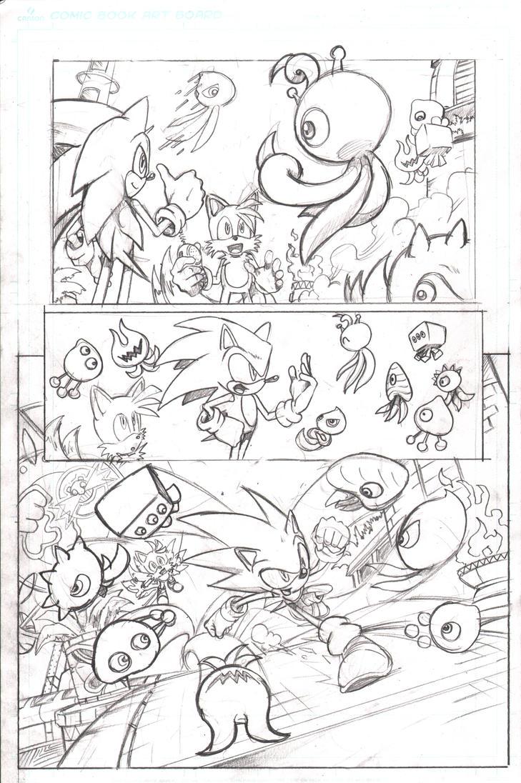 Sonic 219 Colors Adaptation Page 5 by MrEgaku