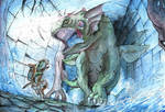 The Unicorn Dragon by AdamBryceThomas