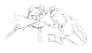 Scribbles - Eggman combing