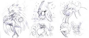 More sketches by AdamBryceThomas