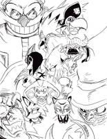 Eggy's dozen sketch by AdamBryceThomas