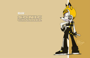 Maw Sonic Channel by AdamBryceThomas