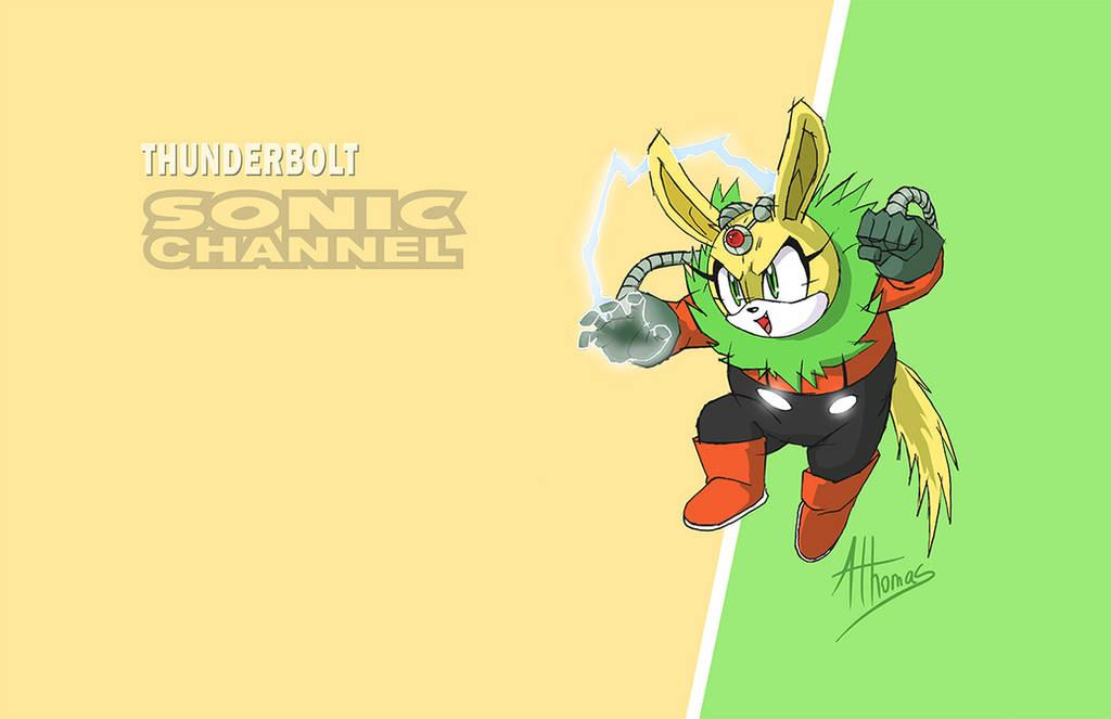 Thunderbolt Sonic Channel by AdamBryceThomas