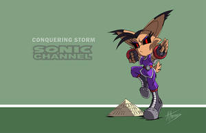 Conquering Storm Sonic Channel by AdamBryceThomas