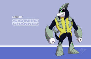 Sonic Channel Akhlut by AdamBryceThomas