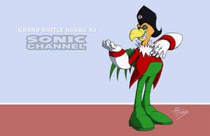 Sonic Channel Kukku by AdamBryceThomas