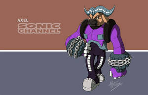 Sonic Channel Axel by AdamBryceThomas