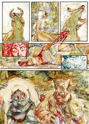 Zelda - 68 - Red Beast Blue Beast by AdamBryceThomas