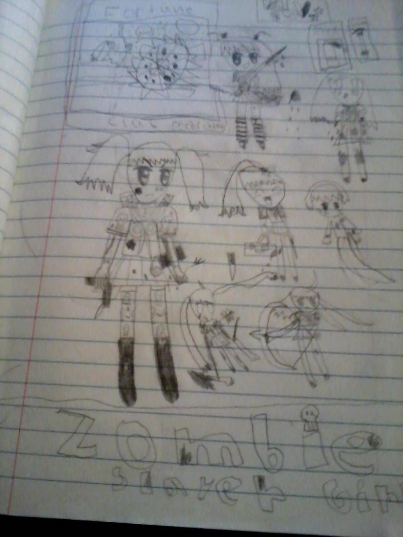 Zombie Slayer Anime Girls By Drawingpandagirl Zombie Slayer Anime Girls By  Drawingpandagirl