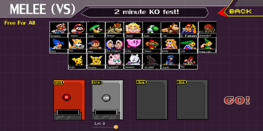 Super smash bros melee by kingbebebe on deviantart