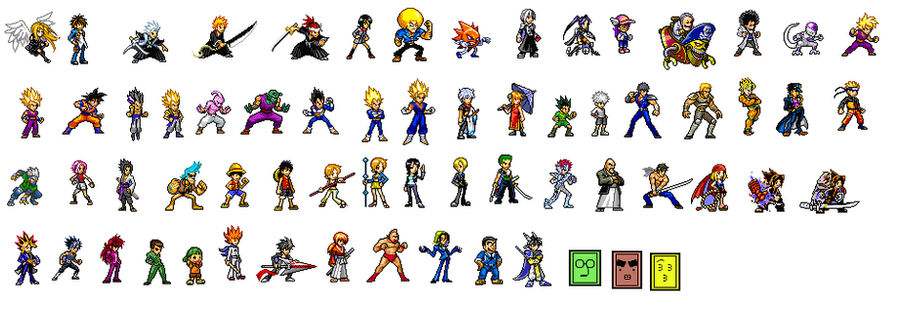 Jump Ultimate Stars All Characters By Kingbebebe On Deviantart