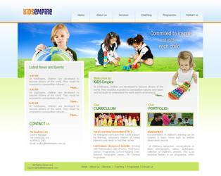 children website by designhood