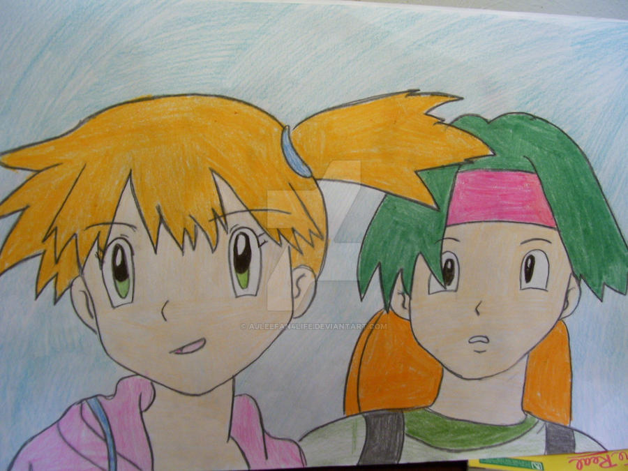 Misty and tracey by AJLeefan4life
