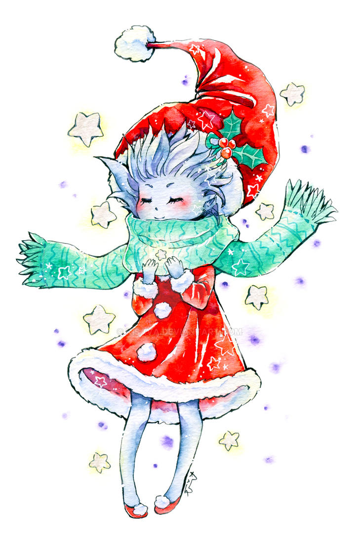 New Years Gift by Kisava