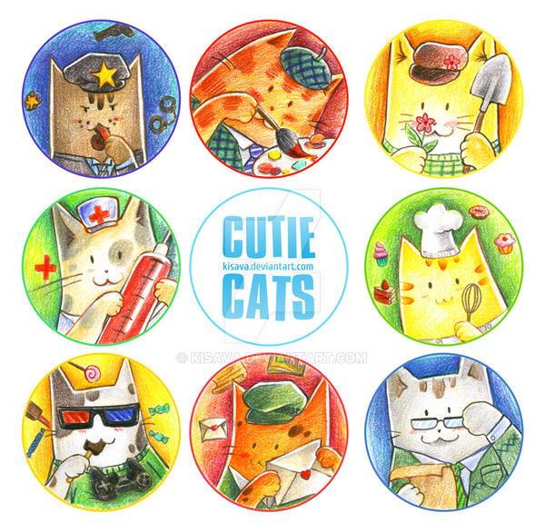 Cats by Kisava
