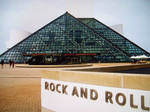 Rock and Roll hall of fame front
