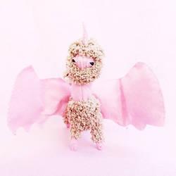 Dragon Plush Doll - Ooak Doll Unicorn Odd Doll by dod0bob
