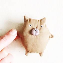 Kawaii Cat Plush by dod0bob