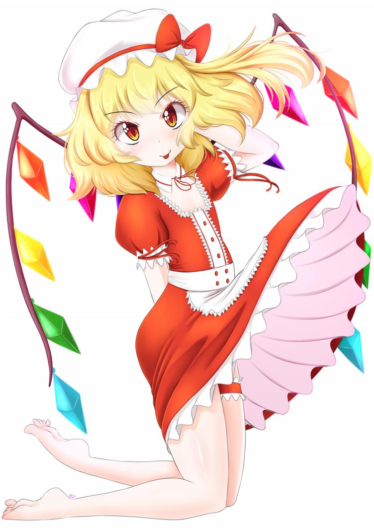 Maid Flan-chan (comm) by ya-ya-tan