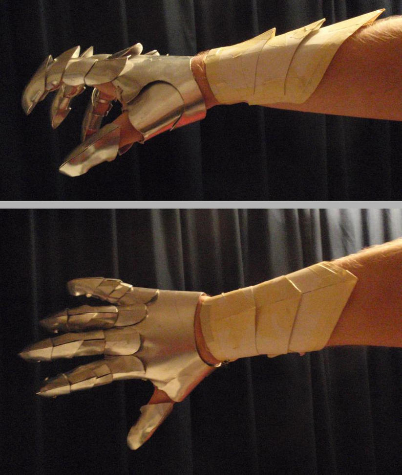 Armguard try-out by unreal-hunter