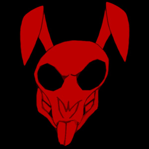 Rabbit Skull Original by Facial-Tic