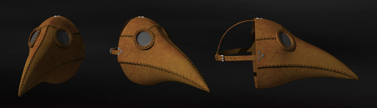 Plague Doctor Mask by Facial-Tic