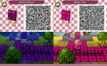 ACNL QR Code - Mystic Stones and Tile
