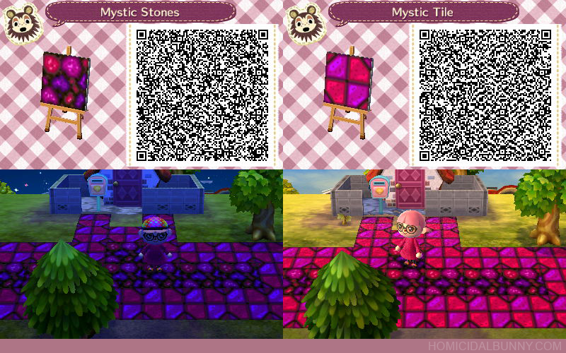 Acnl Qr Code Mystic Stones And Tile By Tehzee On Deviantart