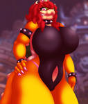 Beastly Bowsette - Bodysuit