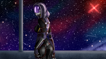 Tali'zorah Mass effect Wallpaper.