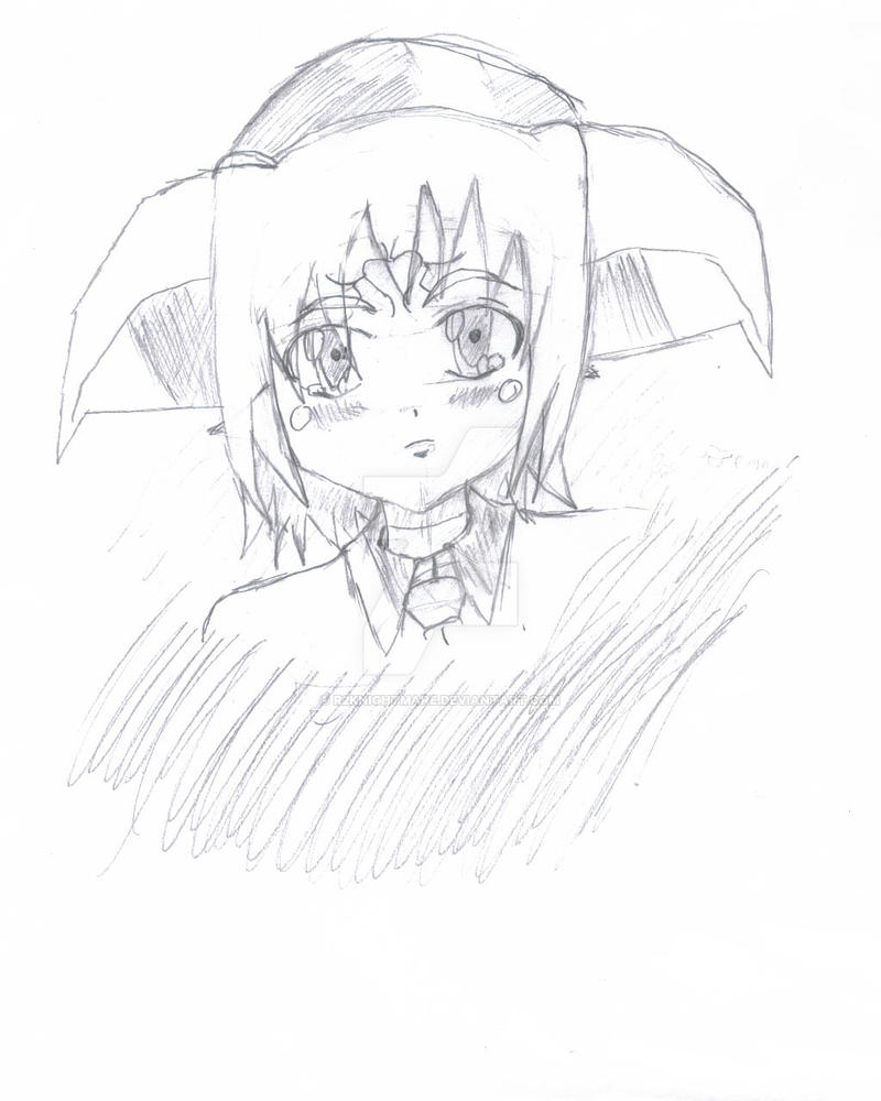 Tamaki sketch 3 by r2knightmare