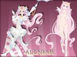[OC] Gemdoll Sheet - Aleniah