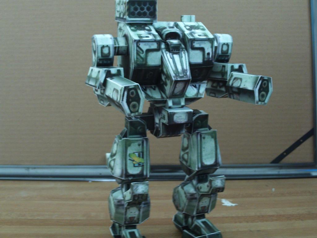 MWO: Forums - Clan Mech Hellbringer / Loki Paper Model
